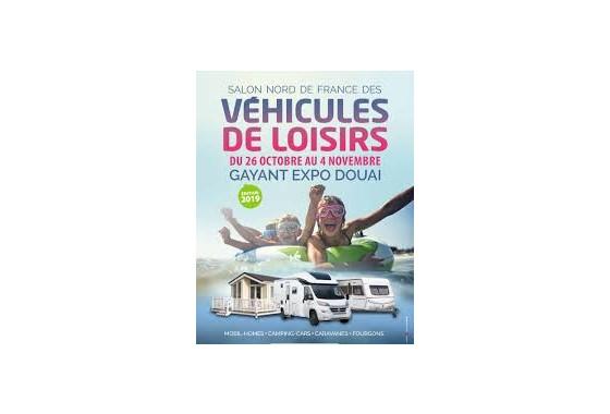 SALON NORD DE FRANCE DES VÉHICULES DE LOISIRS A DOUAI (59)